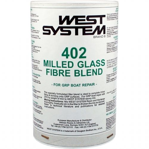 West System 402 Milled Glass Fibre Blend for GRP Boat Repair